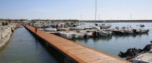 I pontili del porto di Catanzaro