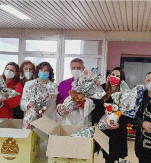 Uova di cioccolato ai bimbi dei centri antiviolenza e degli ospedali di Catanzaro e Lamezia