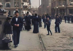 Danimarca, anno 1906, a colori: le suggestive immagini restaurate e in alta qualità Usando uno specifico software, l'autore ha colorato il filmato originale e ha reso la frequenza dei fotogrammi più fluida - CorriereTV