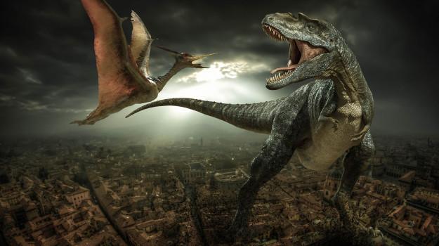 dinosauri, Sicilia, Mondo
