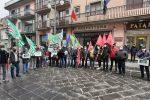 Protesta dei sindacati nelle scorse settimane sul tema della forestazione