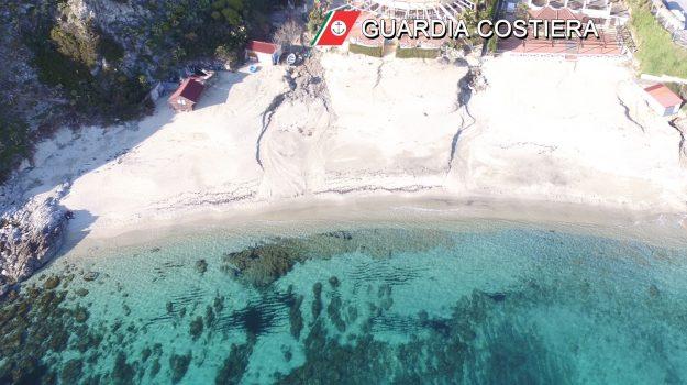 capo vaticano, demolizioni, spiaggia di grotticelle, Camillo Falvo, Catanzaro, Cronaca