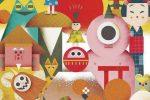 Un vortice di forme e colori: una delle illustrazioni di Philip Giordano