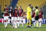 Espulso Ibrahimovic ma il Milan sbanca Parma con Rebic, Kessie e Leao
