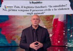 Il monologo di Crozza sulla legge Zan: «Incastrata al senato come la nave nel canale di Suez» L'intervento nella nuova puntata di «Fratelli di Crozza» su Discovery+ - Corriere Tv