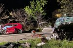 Impatto frontale nella notte di Pasqua in diretta Instagram, quattro morti