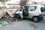 Incidente autonomo a Roccalumera. Ferite 4 persone di Pagliara, fratture per una bimba di 5 anni