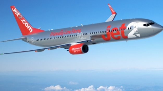 jet2, Jet2holidays, voli catania, Sicilia, Economia