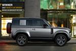 "Land Rover Defender eletta ""World Car design of the Year"""
