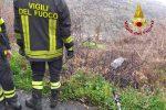 Auto fuori strada a Lamezia Terme, soccorsi donna e figlio
