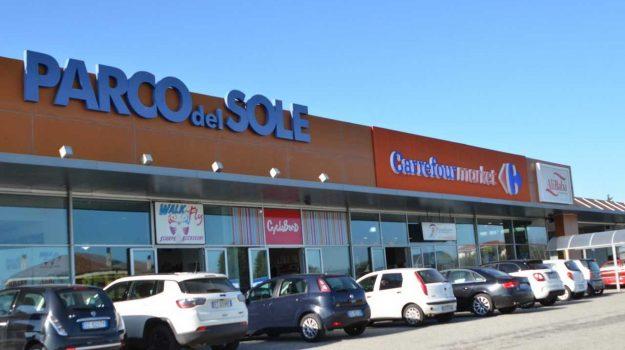 carrefour, maierato, parco del sole, supermercato, Catanzaro, Cronaca
