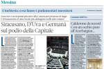 Siracusano, D'Uva e Germanà sul podio dei parlamentari messinesi più attivi