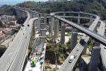 lavori sul viadotto Ritiro si inseriscono nell'ambito di quelli dello svincolo di Giostra