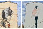 """Murales della """"liberazione"""" a Reggio, monta la polemica politica sul costo di realizzazione"""