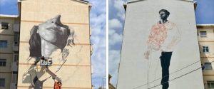 """Reggio, ecco i murales della """"liberazione"""" dedicati a Pasquale Brancatisano e Teresa Gullace"""