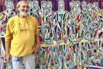 L'artista calabrese Nik Spatari, gigante ed eroe: grazie a lui ha vinto l'arte