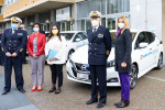 Nissan LEAF veste la livrea della Guardia Costiera
