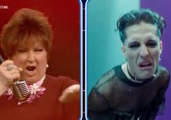 Orietta Berti «scatenata» canta i Maneskin (con la voce di Damiano) L'esibizione su Tv8 a «Name That Tune», dopo la gaffe di Sanremo quando li chiamò «Naziskin» - CorriereTV