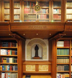 "La biblioteca ""Charitas"" nel santuario di San Francesco di Paola"