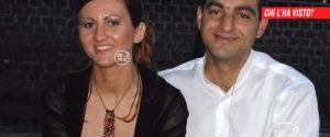 """Barbara Corvi, scomparsa nel 2009, e il marito Roberto Lo Giudice, in un'immagine di """"Chi l'ha visto?"""""""