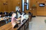 Il procuratore aggiunto di Reggio, Giuseppe Lombardo, durante la requisitoria in tribunale