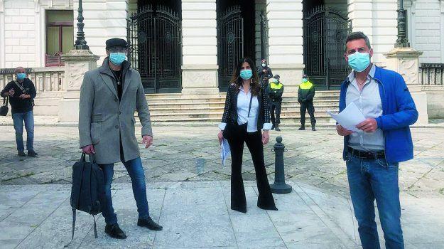 parrucchieri estetisti, protesta, reggio calabria, Reggio, Cronaca