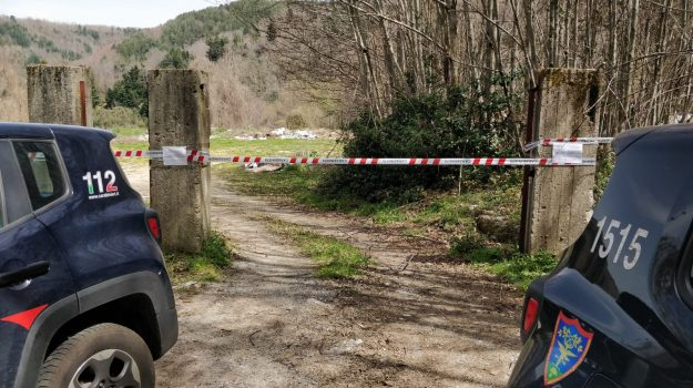 carabinieri, ex discarica sequestrata, santo setfano d'aspromonte, Reggio, Cronaca