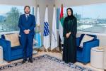 San Marino, Pedini Amati ricevuto da ministro Cooperazione Dubai