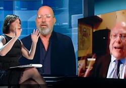 Scontro tv tra Galli e Bonaccini, l'infettivologo perde le staffe: «Si vergogni» L'acceso dibattito è avvenuto a «Cartabianca», in cui entrambi erano ospiti - Ansa