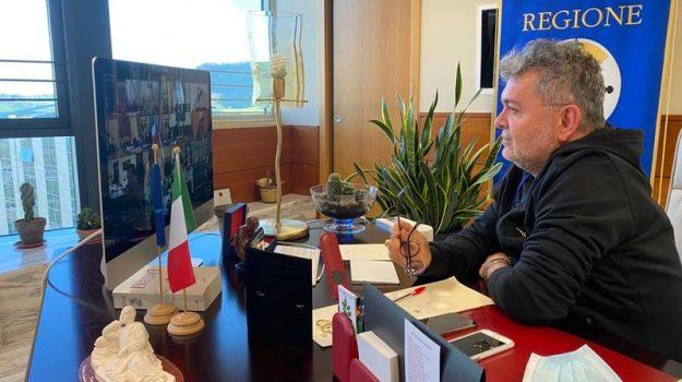 calabria, governo, scuole, videoconferenza, Nino Spirlì, Calabria, Cronaca