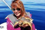 """La presidente dell'associazione """"Filicudi wild life conservation"""", Monica Blasi"""