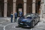 Toyota presenta la Mirai al Sindaco di Terni