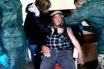 Cinquefrondi, la gioia di nonno Francesco: a 99 anni vaccinato a casa dai militari