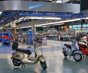 Vespa supera il traguardo dei 19 milioni di esemplari prodotti