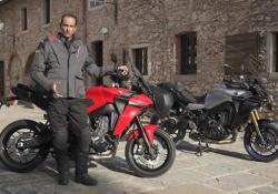 Yamaha Tracer 9: la nostra prova Sulle colline intorno a Siena per scoprire i segreti della nuova tre cilindri da turismo - CorriereTV
