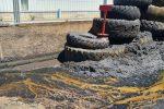 Rifiuti speciali smaltiti nell'area industriale di Lamezia, altri 2 denunciati: sequestrati 2000 mq