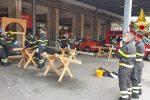 Messina, concluso corso vigili del fuoco su costruzioni, dissesti statici e puntellamenti