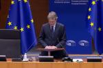 Solidarietà con Sassoli dal Parlamento europeo
