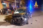 Incidente stradale a Botricello, coinvolte due auto. Feriti un giovane e una donna