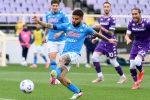 Napoli, colpo Champions a Firenze: vittoria 0-2 (Insigne e autogol di Venuti)