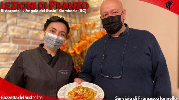 Le tagliatelle d'Aspromonte è il piatto dello chef Maria Lo Faro