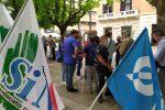 Cosenza, assunzioni ferme dal 1997: protestano gli agenti della Penitenziaria FOTO