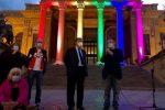 Bandiere arcobaleno, politica, giochi, testimonianze e flash mob: Palermo in piazza per il ddl Zan