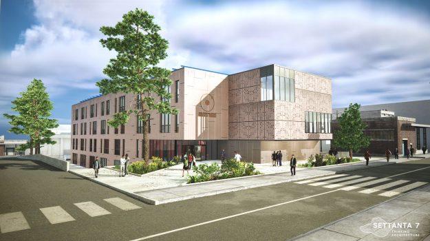 nuova sede liceo scientifico cosenza, Daniele Rangone, Franco Iacucci, Cosenza, Cronaca