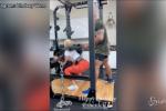 Lindsey Vonn, l'allenamento con The Rock è da paura
