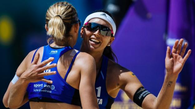 beach volley, olimpiadi, tokyo, Marta Menegatti, Terenzio Feroleto, Viktoria Orsi Toth, Sicilia, Sport