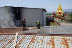Bisignano, in fiamme un impianto fotovoltaico: accidentale l'origine del rogo