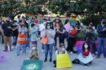 Messina, il popolo arcobaleno a favore del ddl Zan a piazza Unione Europea