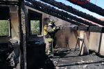 Incendio in un agriturismo di Rossano, accertamenti in corso sulla matrice del rogo