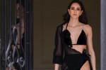 Velluto nero e spallina con 26 diamanti, il bikini più costo dell'estate è della stilista calabrese Laura Spreti
